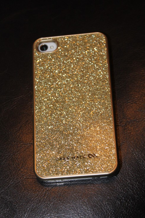 Love my new iPhone - And my new iPhone case! So sparkly!